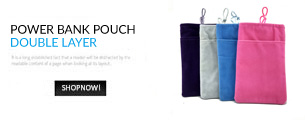 Power Bank Bag / Pouch