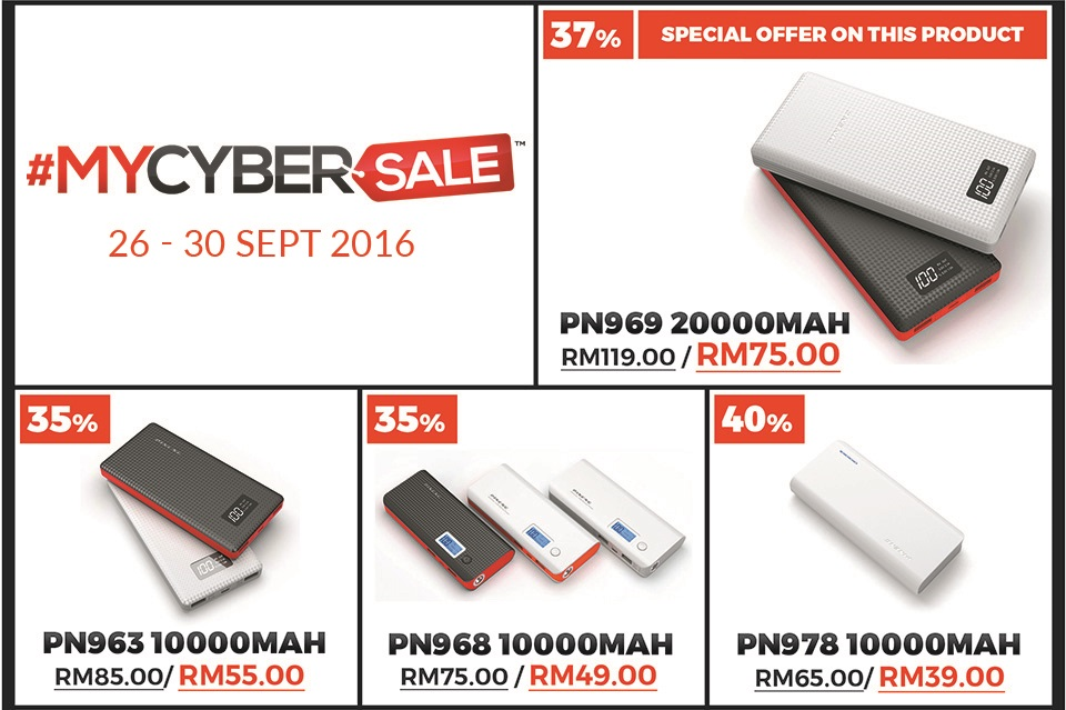 #mycybersale 2016 (5 days sale)