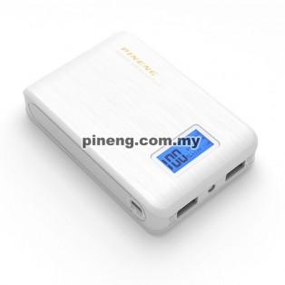 PINENG PN-928 10000mAh Power Bank - White