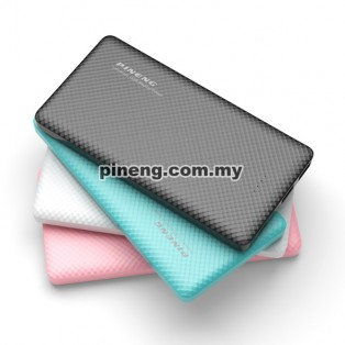 PINENG PN-958 10000mAh Lithium Polymer Power Bank - Blue