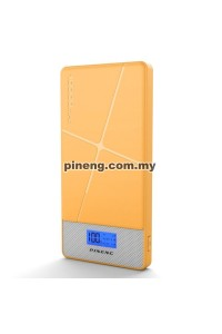 PINENG PN-983s 10000mAh Lithium Polymer Power Bank - Yellow