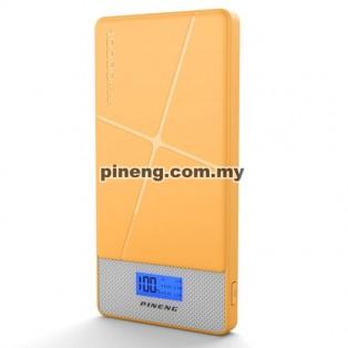 PINENG PN-983s 10000mAh Lithium Polymer Power Bank - Yellow