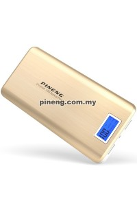 PINENG PN-999 20000mAh Lithium Polymer Power Bank - Gold