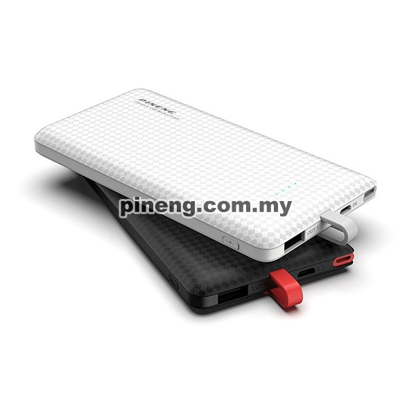 PINENG PN-851 10000mAh Lithium Polymer Power Bank - Black