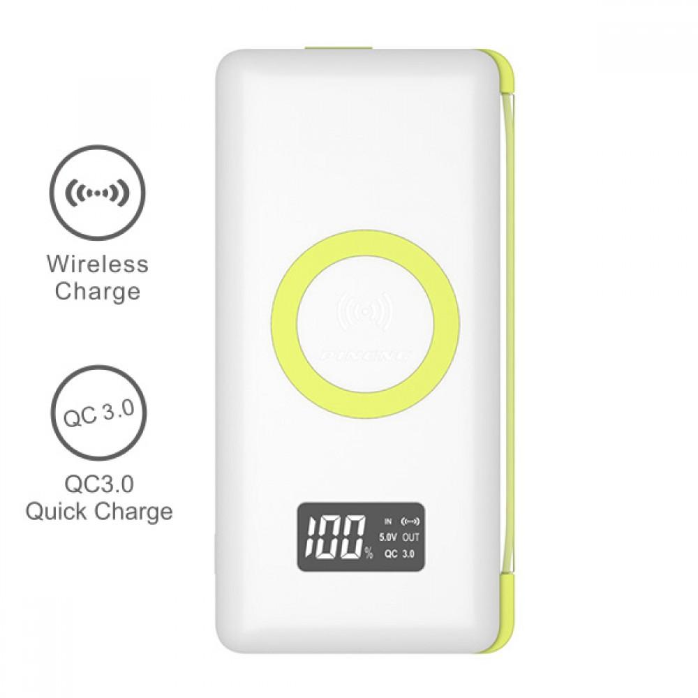 PINENG PN-888 10000mAh Quick Charge 3 0 Qi Wireless Polymer Power Bank