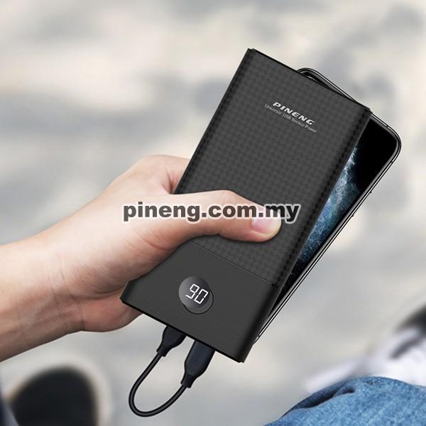 PINENG PN-899PD 30000mAh QC 3.0 / PD 3.0 Power Bank - White
