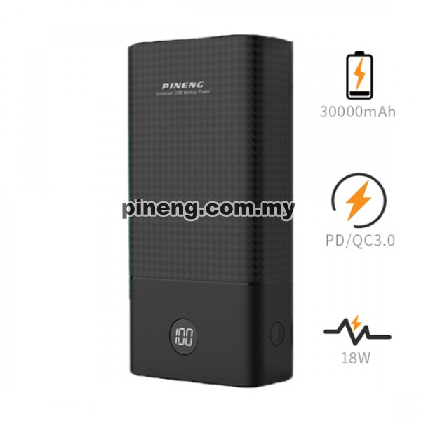PINENG PN-899PD 30000mAh QC 3.0 / PD 3.0...
