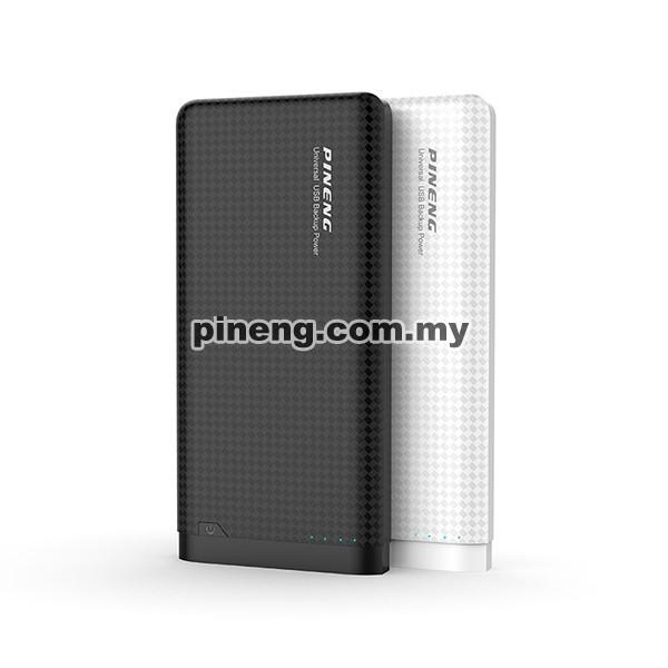 PINENG PN-931 10000mAh Lithium Polymer Power Bank - Black