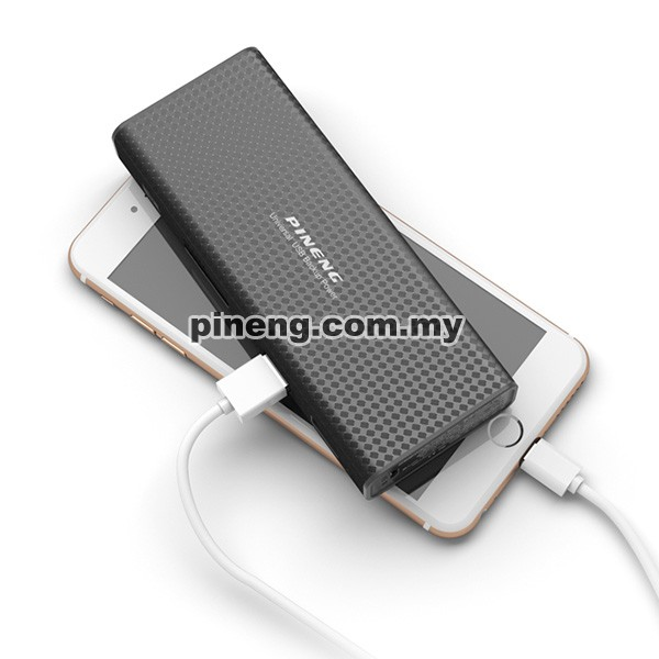 PINENG PN-953 10000mAh Power Bank - Black