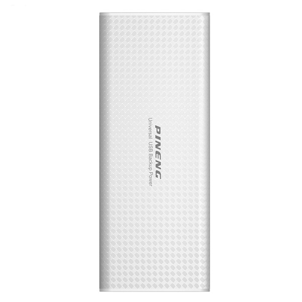 PINENG PN-953 10000mAh Power Bank - White