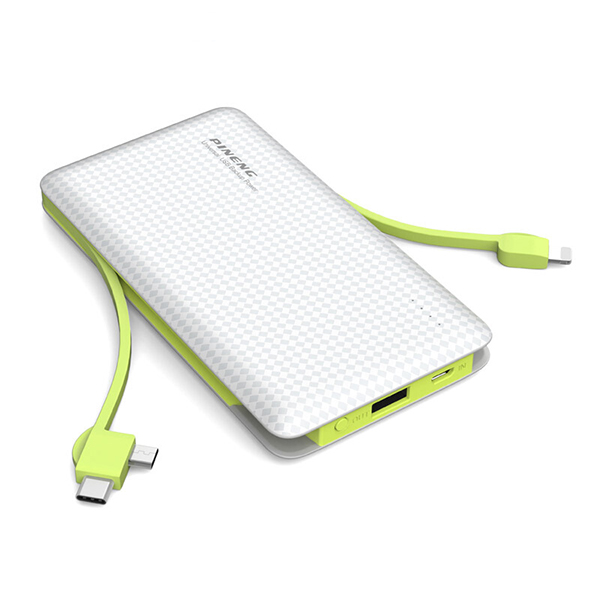 PINENG PN-956 10000mAh Built-In 2 Cable ...