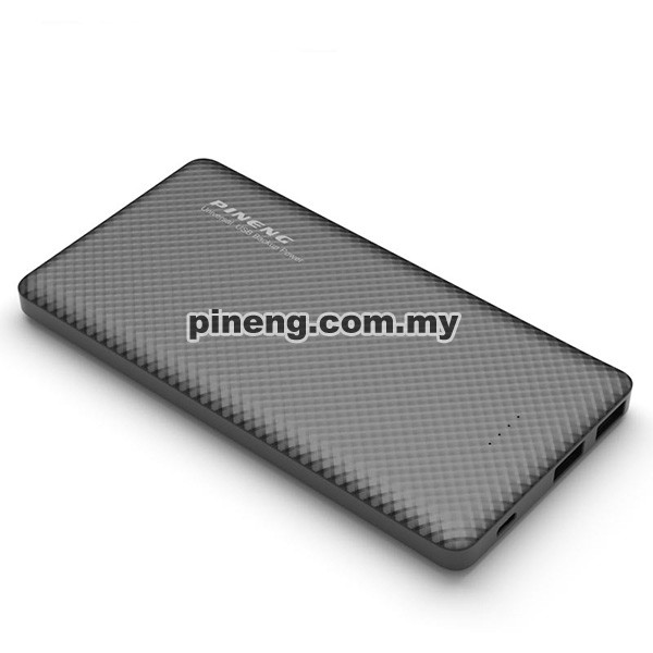 PINENG PN-958 10000mAh Lithium Polymer Power Bank - Black