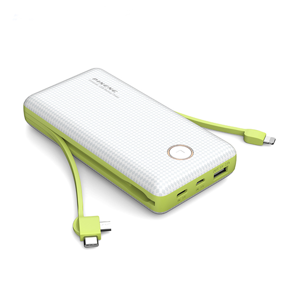 PINENG PN-959 20000mAh Built-In 2 Cable ...
