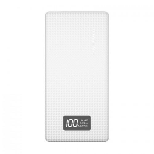 PINENG PN-963 10000mAh Lithium Polymer Power Bank - White