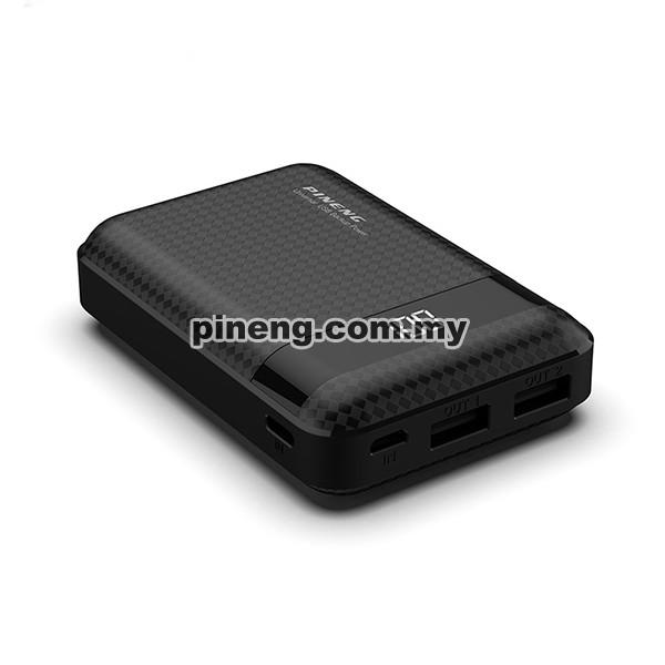 PINENG PN-965 10000mAh Lithium Polymer Power Bank - Black