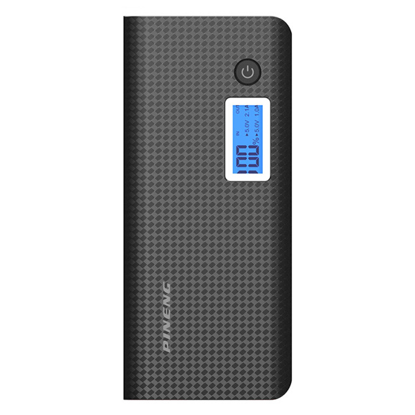 PINENG PN-968 10000mAh Power Bank - Blac...