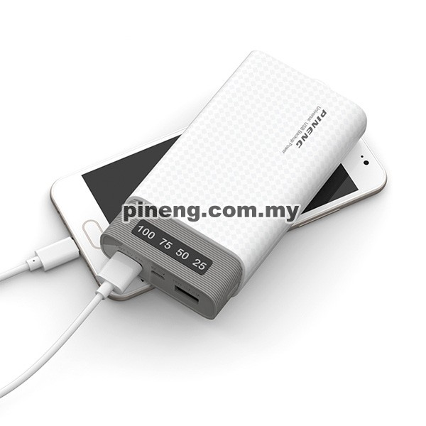 PINENG PN-982 20000mAh Lithium Polymer Power Bank - Black