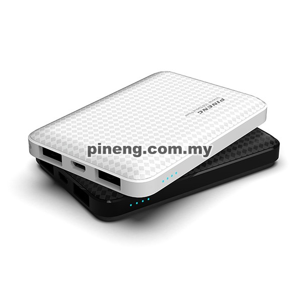 PINENG PN-987 5000mAh Lithium Polymer Power Bank - Black
