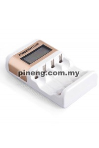 PINENG PN-880 Rechargeable Battery Charging Kit + 4 PCS 3000mAh AA Battery