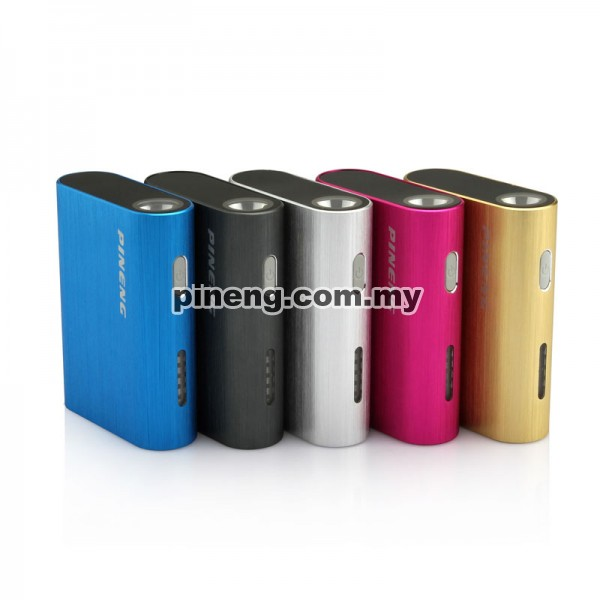 [Clearance] PINENG PN-902 5000mAh Power Bank - Grey