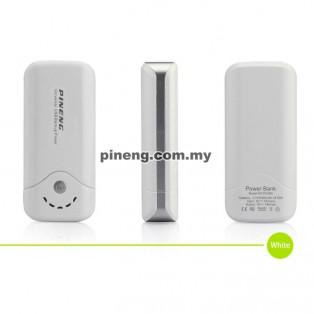 PINENG PN-905 5000mAh Power Bank - White