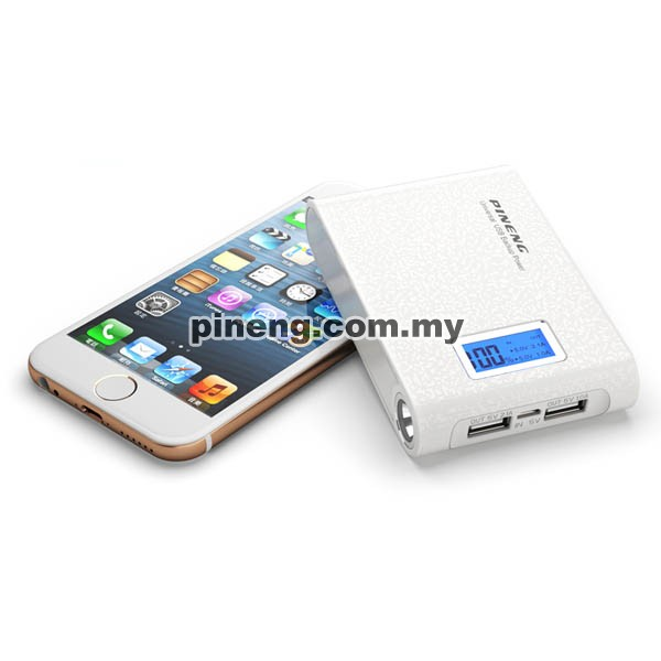 PINENG PN-913 10000mAh Power Bank - Starlight White