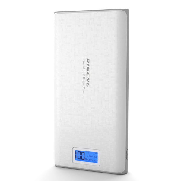 PINENG PN-920 20000mAh Power Bank - Whit...