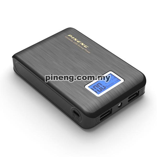 PINENG PN-928 10000mAh Power Bank - Black