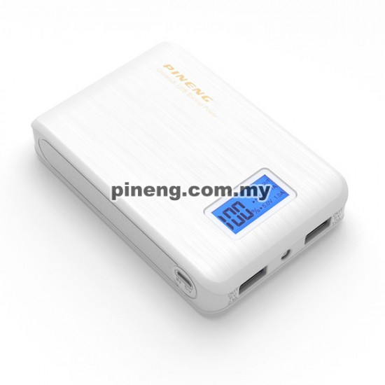 Pineng pn 928 10000mah power bank white - Power bank 10000mah ...