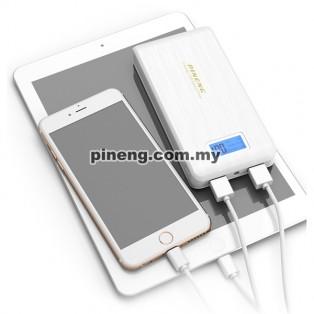 PINENG PN-929 15000mAh Power Bank - White