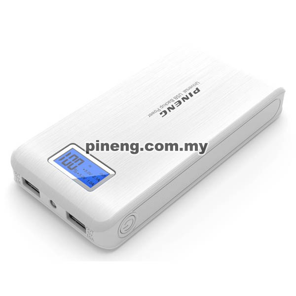 PINENG PN-929 15000mAh Power Bank - White
