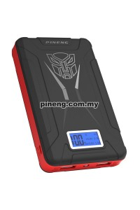 PINENG PN-933 10000mAh Power Bank - Black