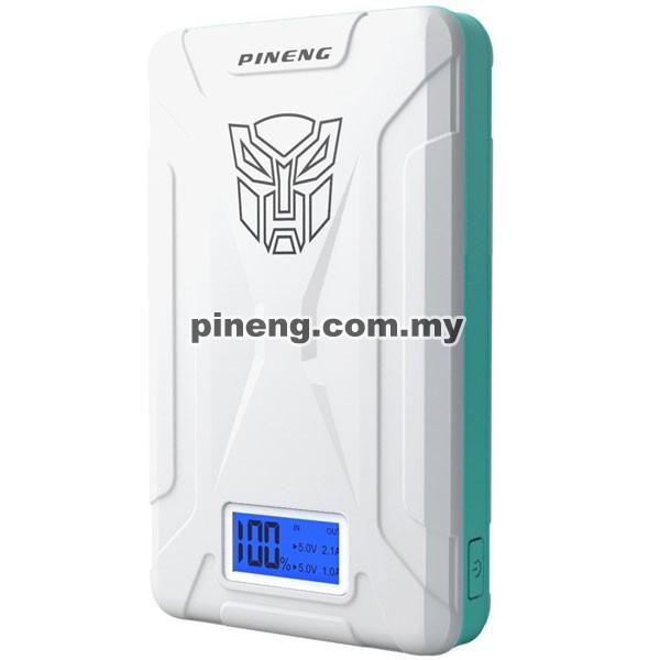 PINENG PN-933 10000mAh Power Bank - White