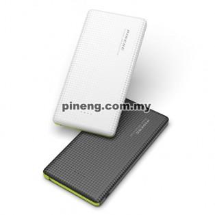 PINENG PN-951 10000mAh Lithium Polymer Power Bank - White