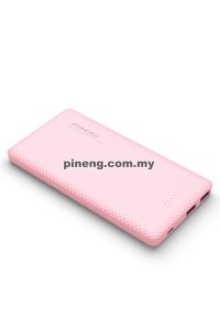 PINENG PN-958 10000mAh Lithium Polymer Power Bank - Pink