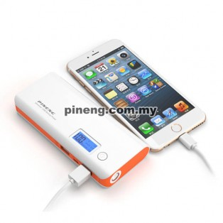 PINENG PN-968 10000mAh Power Bank - White Grey