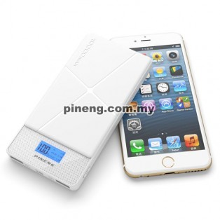 PINENG PN-983s 10000mAh Lithium Polymer Power Bank - White
