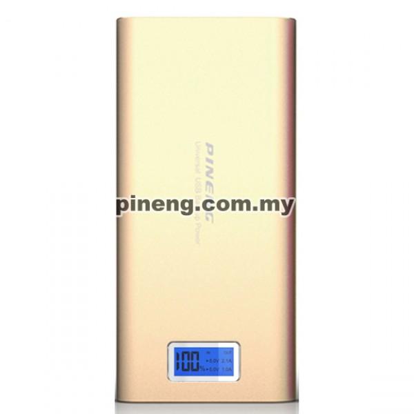 PINENG PN-989 20000mAh Power Bank - Gold