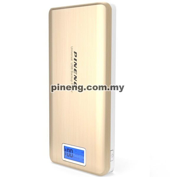 PINENG PN-999 20000mAh Power Bank - Gold