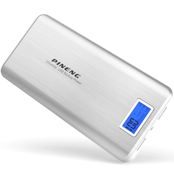 PINENG PN-999 20000mAh Power Bank - Silv...