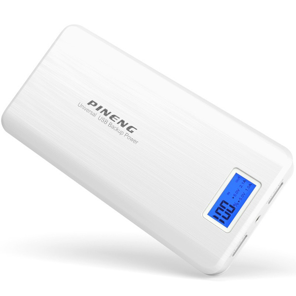 PINENG PN-999 20000mAh Power Bank - Whit...