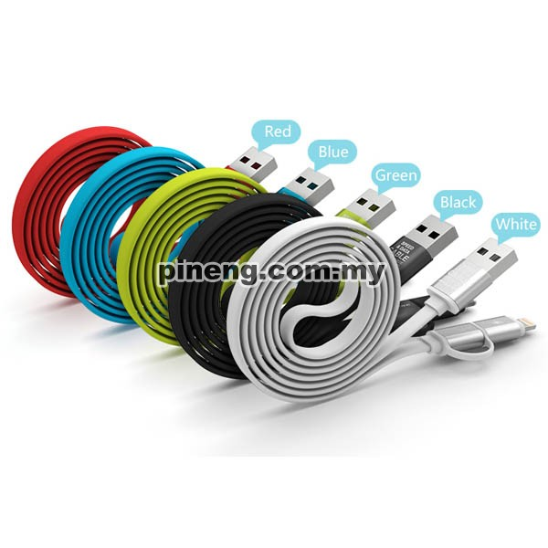 PINENG PN-304 High Speed 2 In 1 Charging & Data Cable