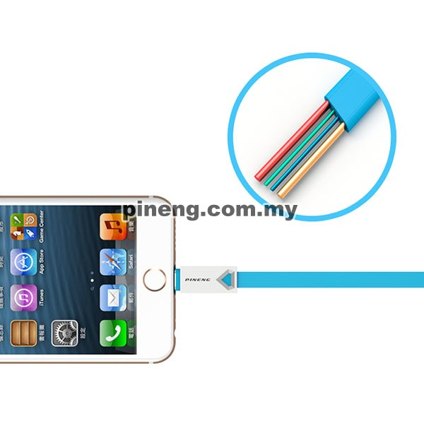 PINENG PN-308 Lightning High Speed Data & Charging Cable