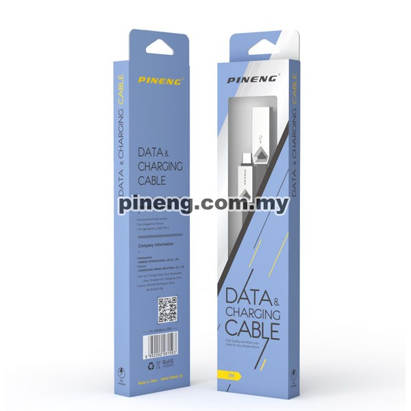 PINENG PN-309 Micro USB High Speed Data & Charging Cable