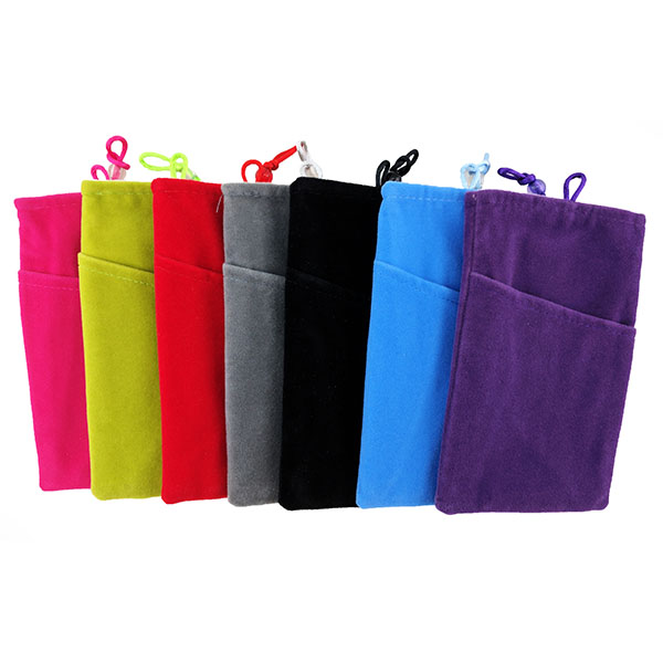 Power Bank Double Layer Soft Pouch Bag