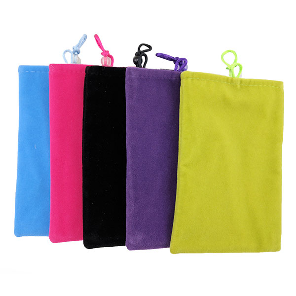 Power Bank Soft Velvet Pouch Bag