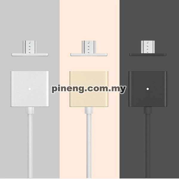 WSKEN Dual Metal Magnetic Micro USB X-Ca...