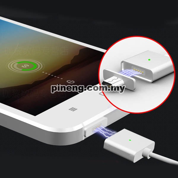 WSKEN X-CABLE 2.4A Magnetic Micro USB Data & Charging Cable